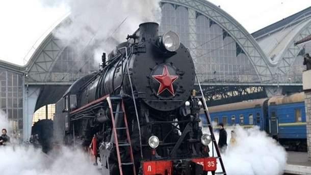 В День Независимости в Киеве будет курсировать ретропоезд