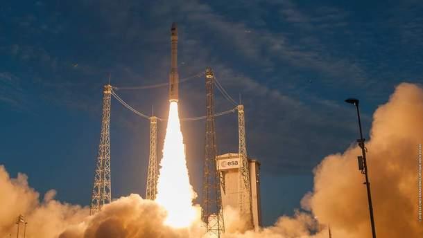 В космос запустили ракету Vega