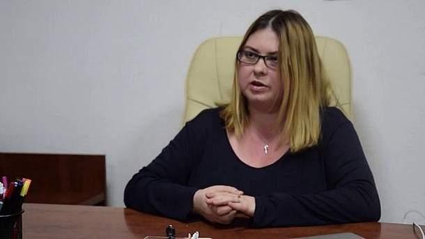Херсонська  активістка Катерина Гандзюк