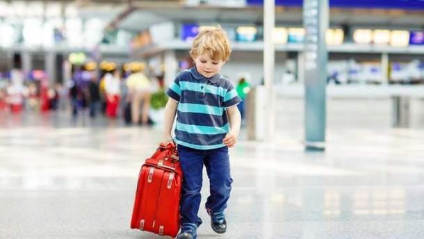 Правила виїзду дітей за кордон 2018