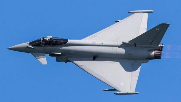 """Британия подняла """"Тайфуны"""" для перехвата российских Су-30"""