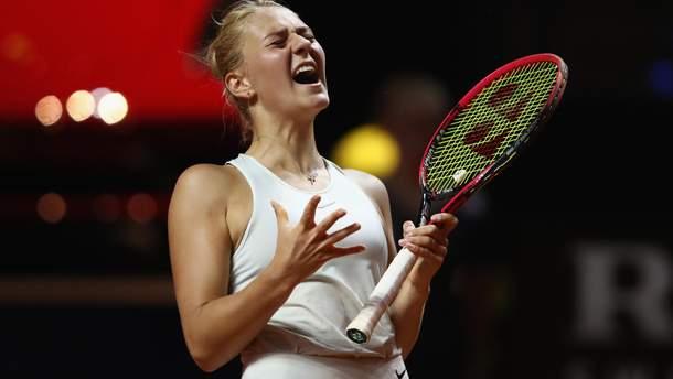 Марта Костюк не змогла пройти кваліфікацію US Open-2018