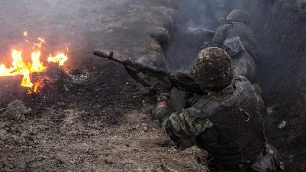 На Донбассе продолжается ожесточенный бой: оккупанты несут значительные потери (иллюстративное фото)