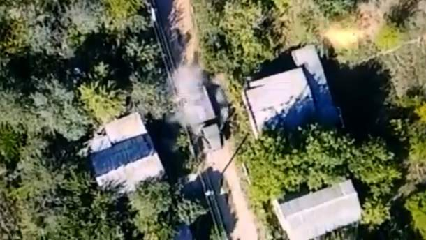 Українські захисники знищили техніку окупантів на Донбасі