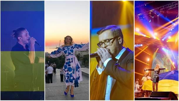 Как украинские звезды поздравляют с праздником Дня Независимости Украины