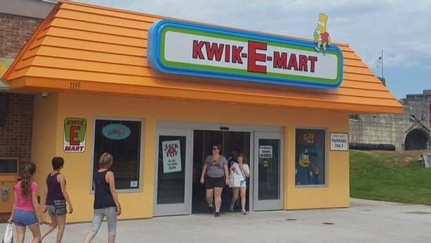 """Супермаркет із """"Сімпсонів"""" відкрився у США"""