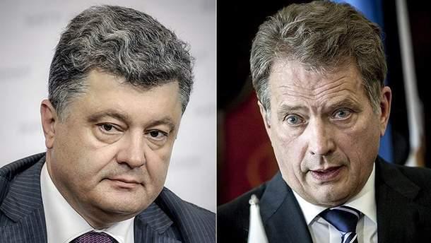 Президенты Украины и Финляндии провели телефонный разговор