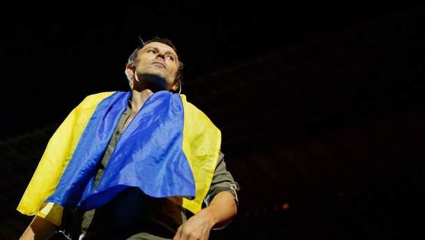 Святослав Вакарчук поздравил украинцев с Днем Независимости