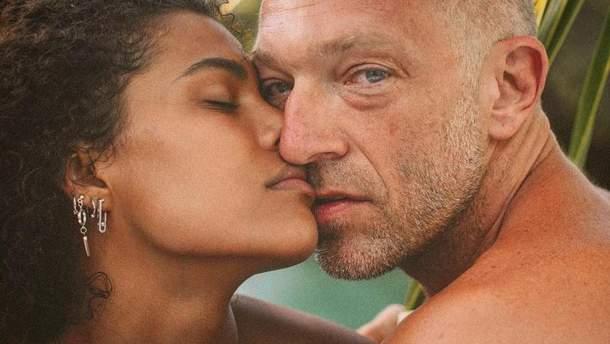 51-річний Венсан Кассель одружився з21-річною моделлю Тіною Кунакі