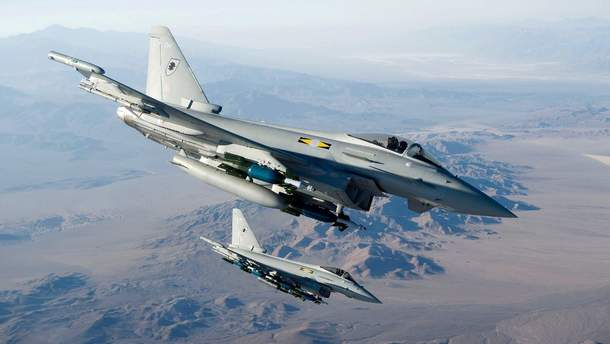 Британские истребители вновь поднялись на перехват российских самолетов