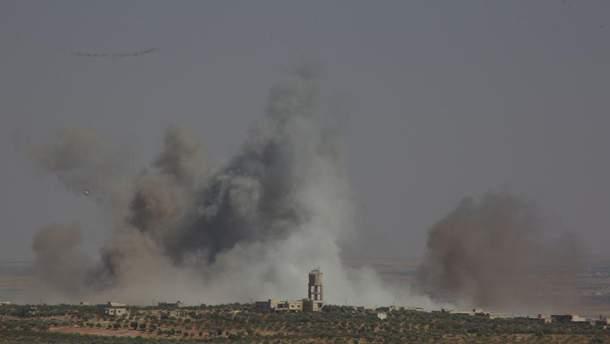 США пригрозили новим авіаударом по Сирії в разі використання хімзброї