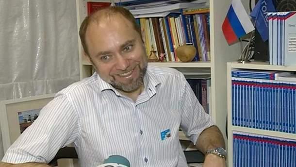 Російського активіста не пустили до України