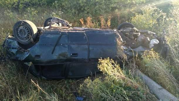 ДТП с участием несовершеннолетнего водителя в Луганской области