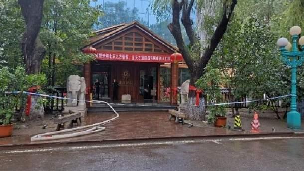 В китайском отеле заживо сгорели 19 человек