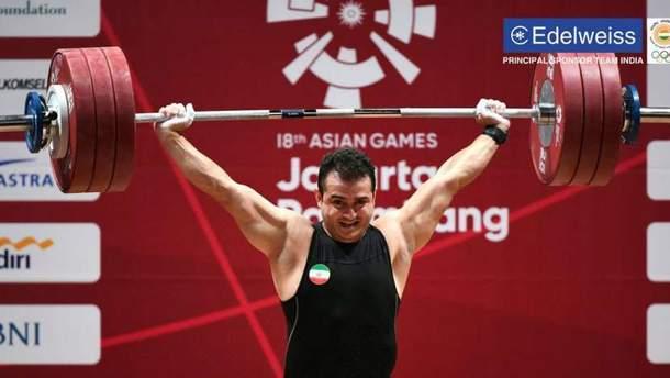 Сохраб Мораді став світовим рекордсменом
