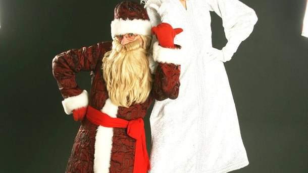 В студенческие годы необычная парочка подрабатывала на зимние праздники Дедом Морозом и Снегурочкой