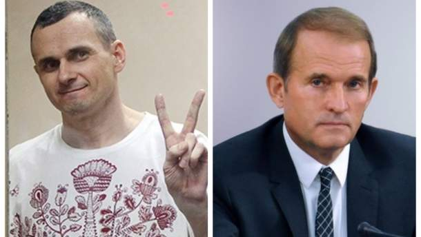 Сенцов повернеться додому, заявив Медведчук