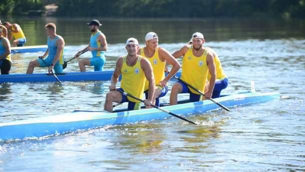 Українці здобули срібло на чемпіонаті світу з веслування