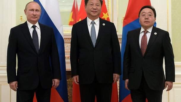 """Росія, Китай та Монголія проведуть військові навчання """"Восток-18"""""""
