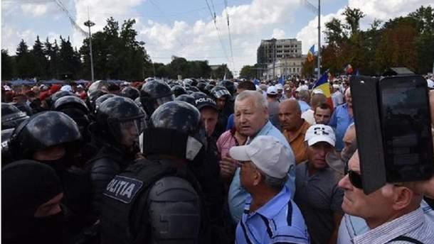 Протесты в Молдове
