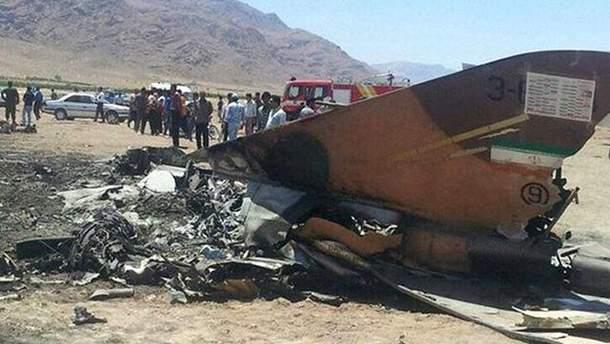 В Ірані розбився винищувач F-5