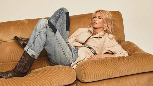Клаудия Шиффер для Vogue Paris