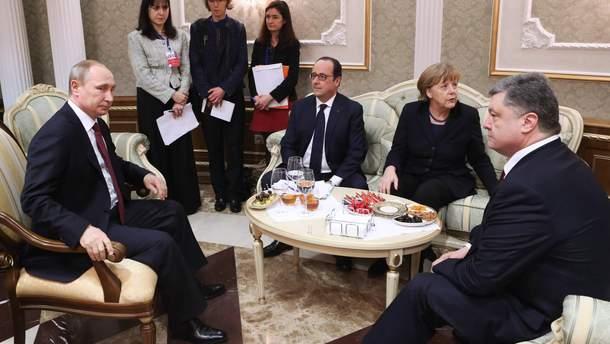 Олланд описал, как создавались минские соглашения в 2015 году