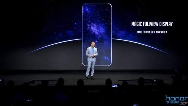 Безрамковий смартфон Honor Magic 2