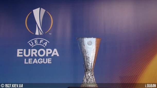 Результаты жеребьевки Лиги Европы 2018-2019 все группы