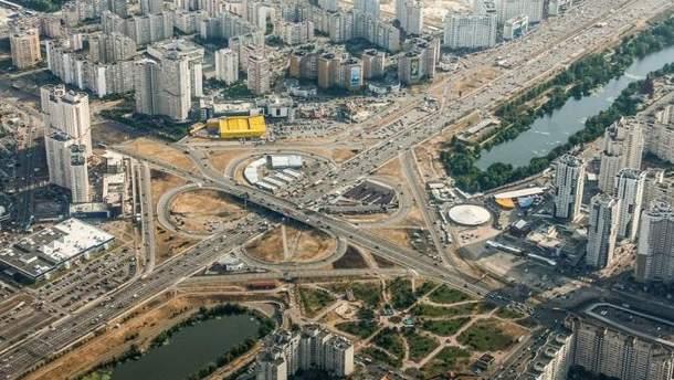 У Кличко запланировали грандиозную перестройку транспортной системы левого берега Киева
