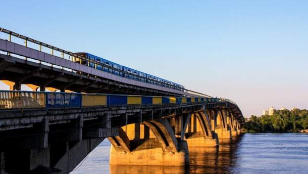 Мост Метро отремонтируют