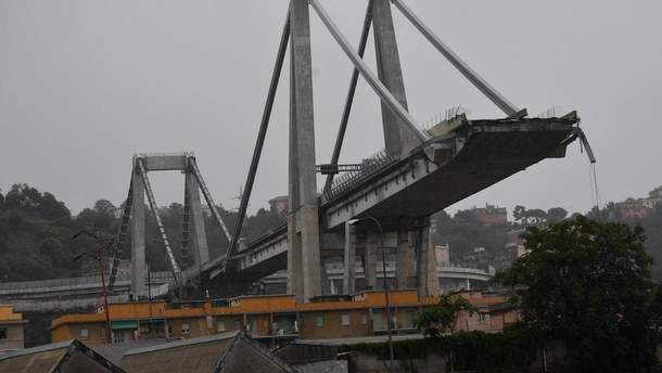 Міст у Генуї знесуть, на це знадобиться 30 днів