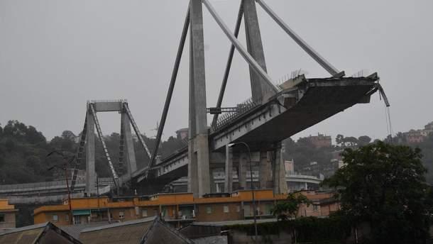 Мост в Генуе снесут, на это понадобится 30 дней