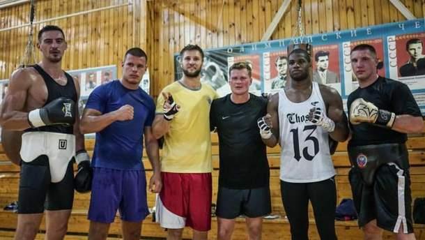 Трое украинцев помогают Поветкину в подготовке к бою против Джошуа
