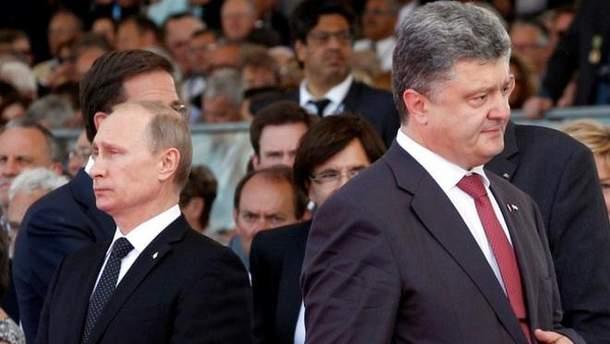 Песков прокомментировал воспоминания Олланда об угрозах Путина Порошенко