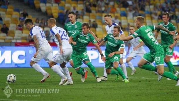 Динамо – Карпаты видео голов матча УПЛ 2 сентября 2018