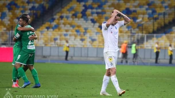 Динамо – Карпаты результат матча УПЛ 2 сентября 2018 года