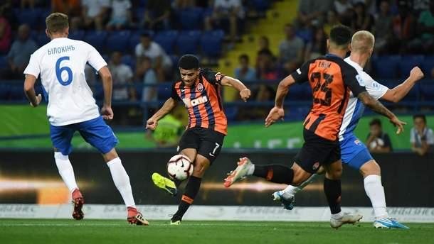 Шахтер – Мариуполь результат матча УПЛ 1 сентября 2018