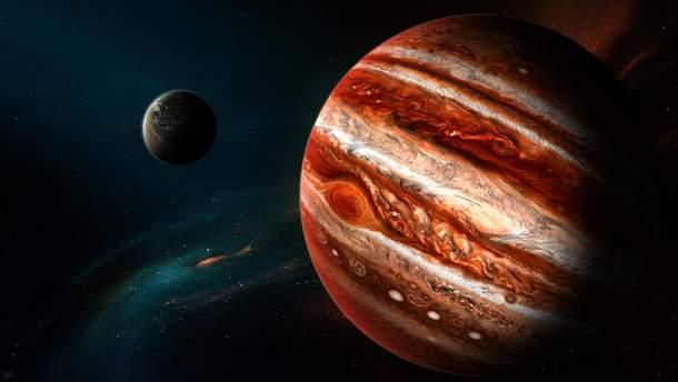Ученые обнаружили воду на Юпитере