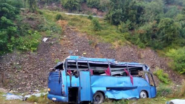 Аварія автобуса з пенсіонерами сталась у Болгарії 25 серпня