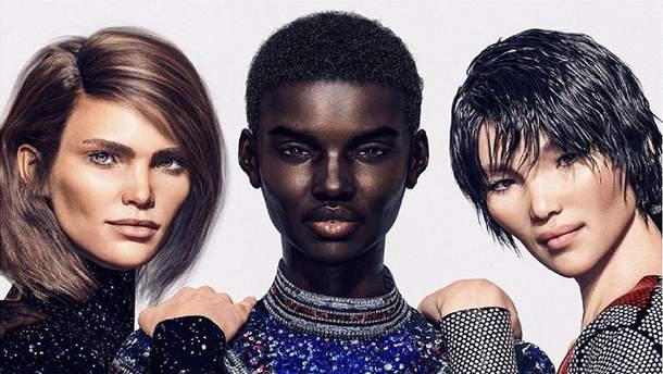 Віртуальні моделі стали обличчям Balmain