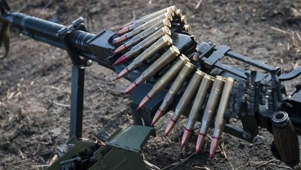 Бойовики обстрілюють українські позиції  з гранатометів та кулеметів