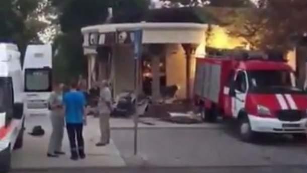 Захарченка вбили у Донецьку: відео з місця вибуху