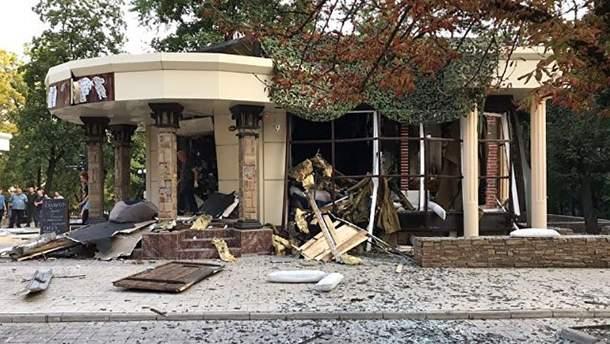"""Загибель Захарченка: вибух стався у ресторані """"Сепар"""", який належав вождю """"ДНР"""""""