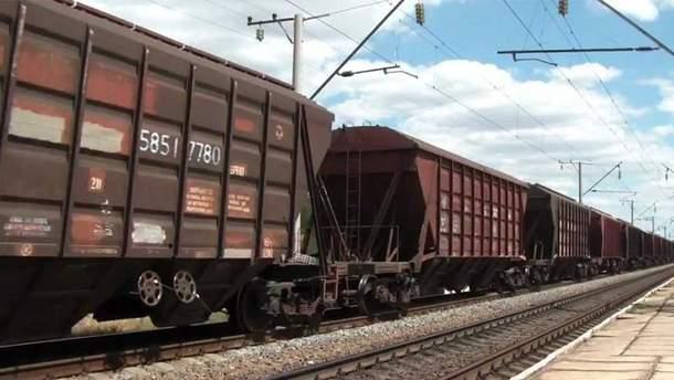 Мигранты прятались в грузовом поезде, который перевозил уголь