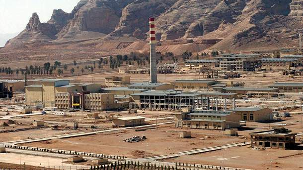 Ракетный завод Парчин в Иране