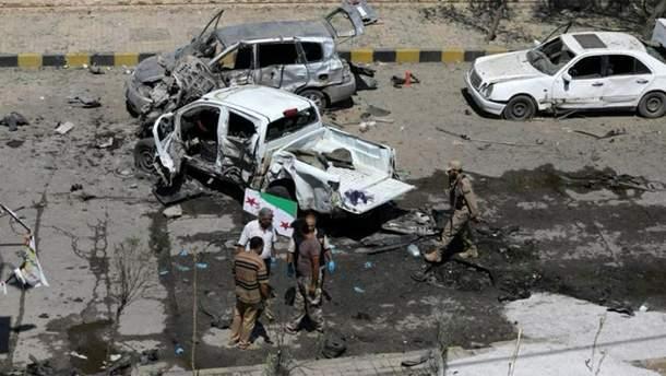 У Сирії вибухнув замінований автомобіль