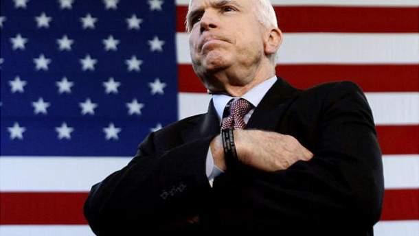Українські політики провели Маккейна в останню путь