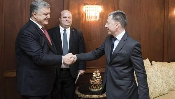 Порошенко встретился с Волкером в Вашингтоне