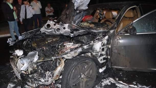 В Ровно подожгли авто депутата-свободовца